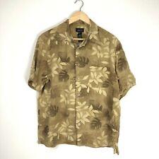 Claiborne Vintage Men's Hawaiian Shirt - Large L - Short Sleeve - Floral