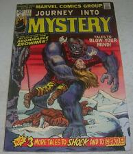 JOURNEY INTO MYSTERY #13 (Marvel 1975) ABOMINABLE SNOWMAN (FN-) Ditko & Kirby