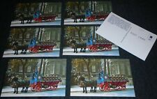 7 Vintage Pabst Brewery, Pabst Blue Ribbon Beer Horse Drawn Wagon Postcards
