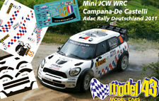 DECAL  1/43 - MINI WRC - CAMPANA - Rally GERMANIA   2011