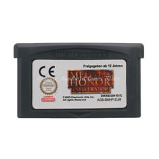 Medal of Honor Infiltrator GBA Game Boy Advance Cartridge English