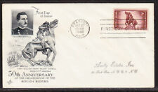 """USA """"Artcraft"""" 1948 Rough Riders First Day Cover Addressed"""