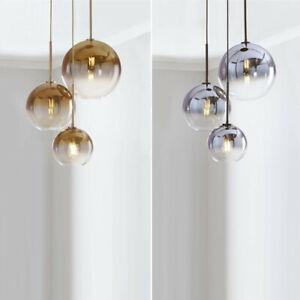 Glass Pendant Light Kitchen Lamp Home LED Chandelier Lighting Shop Ceiling Light