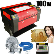 100w Usb Co2 Laser Cutter Engraver Laser Engraving Cutting Machine DSP 700X500MM