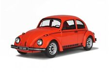 OTTO MOBILE 637 VW BEETLE JEANS 2 resin model car Phoenix red 1974 Ltd Ed 1:18th