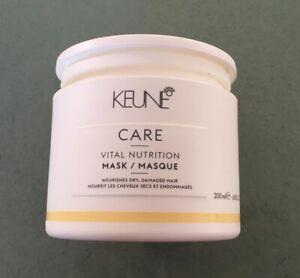 Keune Care Vital Nutrition Mask Intensive Hair Repair. 200 ml 6.8 fl oz