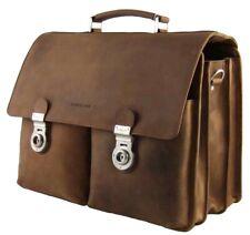 Harold's Laptoptasche 15 / 17 Zoll Rind-Leder Notebook-Tasche Laptop-Fach 470103
