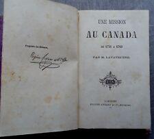 Une mission au Canada de 1751 à 1769 Lavayssiere