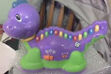 Leap Frog Purple Dinosaur Lettersaurus  Learning Path Item No. 19174 VGC RRP £22