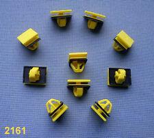(2161) 10x Zierleistenklammern Clip Klip Zierleisten für Hyundai, Kia, gelb
