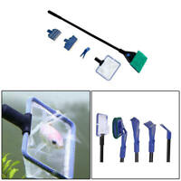 Fish Tank Aquarium Cleaning Kit Glass Brush Fishnet Magnetic Cleaner 5 in1 asd