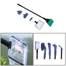 Fish Tank Aquarium Cleaning Kit Glass Brush Fishnet Magnetic Cleaner 5 in1 asd