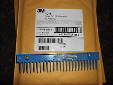 3M MS2 WIRE SEPARATOR BLUE COMB #78-8011-2560-6 NEW
