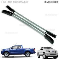 2dr Silver Abs Roof Rack Bar Fit Mazda Bt-50 Fits Ford Ranger Wildtrak 2012 17