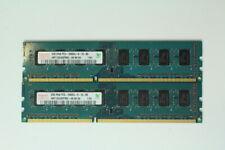 Hynix 4GB (2x2GB) PC3-10600 DDR3 Desktop Memory RAM HMT125U6DFR8C-H9