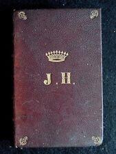 Livre La vie de notre seigneur Jésus-Christ Jules Gervais Couronne comtale J.H