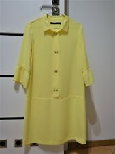 NWT ZARA yellow dress size S 36