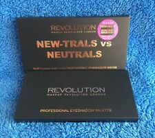 Makeup Revolution New-trals Vs Neutrals Eyeshadow Palette And Brush - MELB STOCK