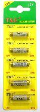 5 Pcs/Pack 12V Alkaline Batteries 27A for remote,door bell UK SELLER FREE P&P