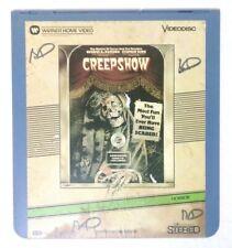 CED Videodisc Laserdisc - Creepshow - VERY RARE HORROR MOVIE