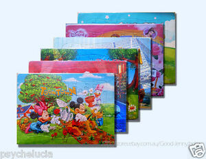 Disney Cars Spider-man Toy Story Frozen 40 Pcs Jigsaw Puzzle Best Gifts for Kids