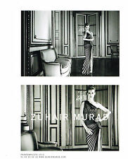 PUBLICITE ADVERTISING 2011    ZUHAIR MURAD  haute couture