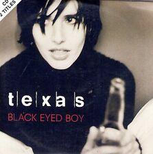 CD CARTONNE CARDSLEEVE 2T TEXAS BLACK EYED BOY DE 1997