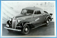 """1937 Chevrolet Convertible Top Up 12 x 18"""" Black & White Picture"""