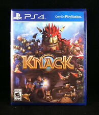 Knack (PlayStation 4) Brand New / Sealed /