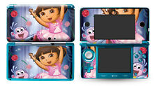 Skin Sticker to fit Nintendo 3DS - Dora Ballerina