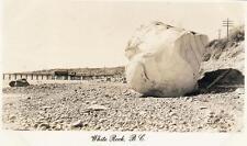 Photo. ca 1954. White Rock, BC Canada. Pier