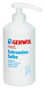 Gehwol Schrundensalbe 500 ml im SPENDER für verhornte, rissige, trockene Haut