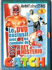 DVD GENERATION CATCH AVANT D'ETRE STARS n°2 # REY MYSTERIO LES PREMIERS COMBATS