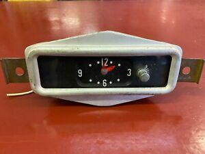1956 BUICK SPECIAL CENTURY SUPER ROADMASTER NEWHAVEN 12V  DASH CLOCK