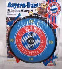FC Bayern München Dart,Sicherheits Wurfspiel mit Kletthaftung   NEU,OVP,Lizenz