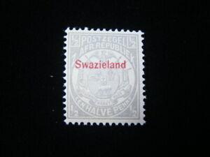 Swaziland Scott #9 Mint Never Hinged O.G. $17.00 MNH Nice!!