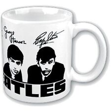 The Beatles Black White Portraits Signatures Boxed Coffee Gift Mug Cup Official
