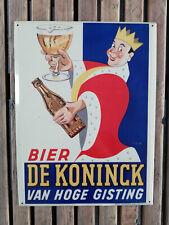 Plaque tôlée Bier De Koninck