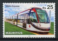 Mauritius Trains Stamps 2019 MNH Metro Express Railways Rail 1v Set