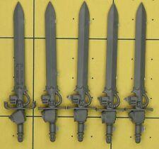 Warhammer 40K Space Marines grey knights Terminator Nemesis Force épées