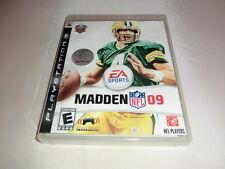 Madden NFL 09 (ps3) version américaine, Complet avec mode d'emploi