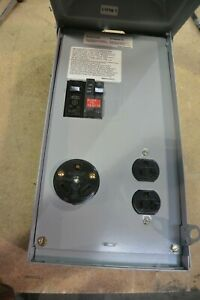 NEW MIDWEST U041G Rainproof Temporary Power Outlets 70A 120/240v 1 Phase 3R