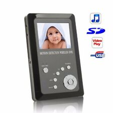 NEW 2.7 LCD 2.4g Wireless Palm Monitor Portable DVR Rec DVR 4 Channels Receiver