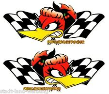 DRAGSTER Autocollant Sticker Rockabilly Old School Tuning Racing US Cars v8 Rétro