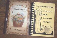 PENNSYLVANIA- 2 COMMUNITY FUNDRAISER COOKBOOKS-VGC-SUNBURY AND PHILLY