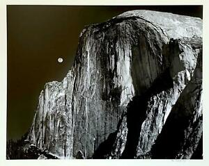 Robert Werling -Half Dome, Yosemite -Signed Large Format -Student of Ansel Adams
