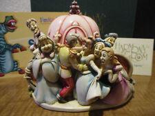 Harmony Kingdom Disney Bibbidi-Bobbidi-Boo Cinderella BoxFigurine LE400 SGN RARE