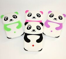 For iPod Touch 4th Generation - Soft Rubber Silicone Skin Case Cover PANDA BEAR