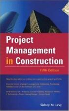 Project Management in Construction (McGraw-Hill Professional Engineering)