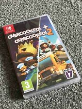 Overcooked Special Edition + Overcooked 2 Nintendo Switch (Brand New SEALED)